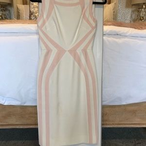 Gorgeous Antonio Melani pink white dress